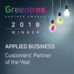 Greentree ERP 2018 Award