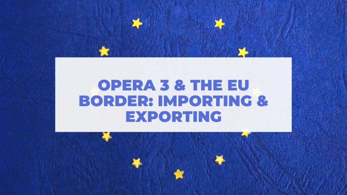 Pegasus Opera & The EU – Importing & Exporting