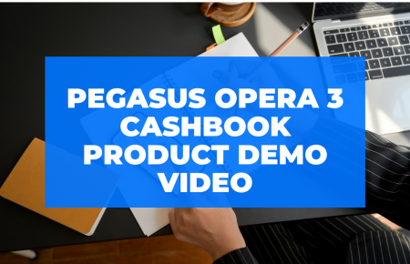 Pegasus Opera 3 Cashbook Product Demo Video