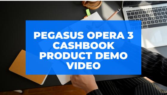 Opera 3 Cashbook